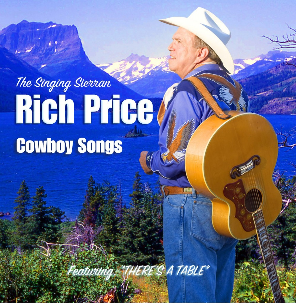 Rich Price Cowboy Songs Cover