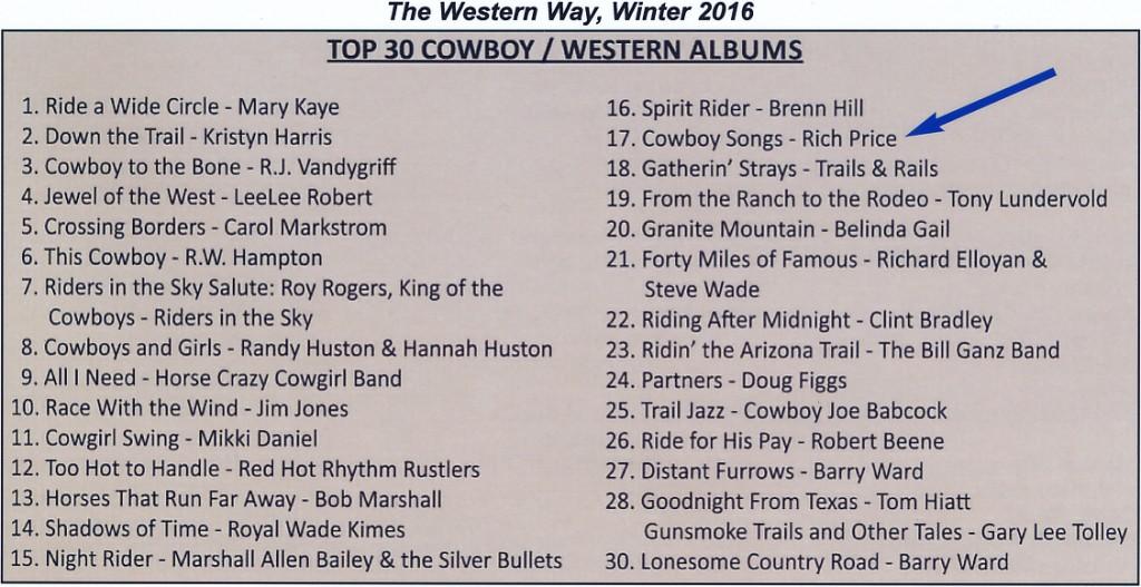 Western Way [Winter 2016]